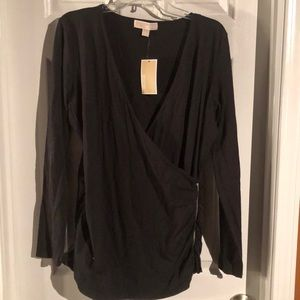Michael Kors black top, NWT